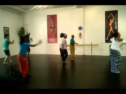 African Soul International class March 1, 2014 Global Beat Los Angeles