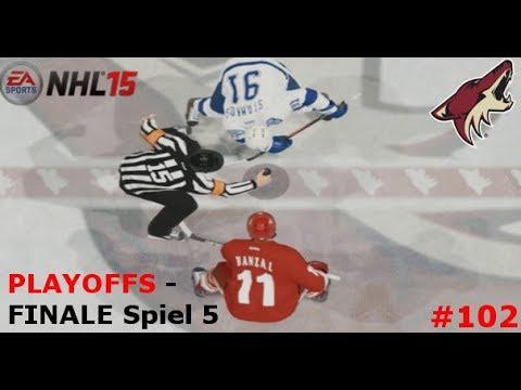 NHL 15 - PLAYOFFS #23: Heimvorteil? vs. Tampa Bay Lightning | Part #102 [FINALE]