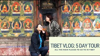 Tibet vlog : 5 day tour of all the main sights. Moved to happy tears