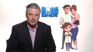 THE BOSS BABY - Alec Baldwin, Lisa Kudrow, Tom McGrath Interviews (2017) Animated Movie HD