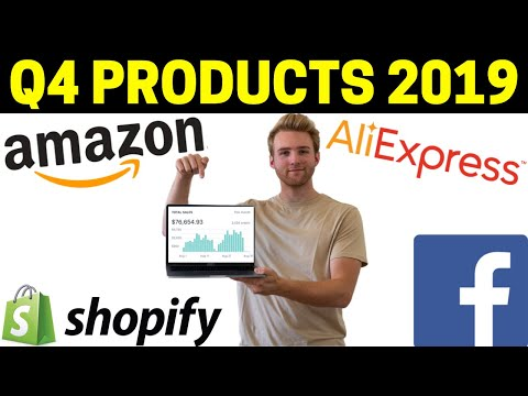 WINNING Products To Dropship In October 2019 Q4 (Product Research REVEALED)