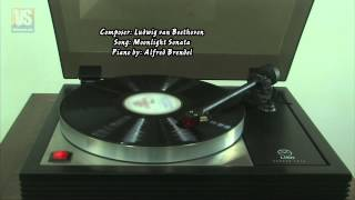 【LP Records】Moonlight - Ludwig van Beethoven - Alfred Brendel