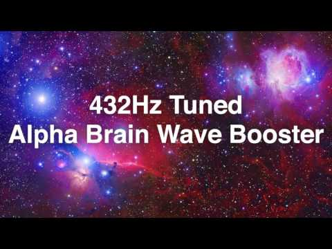 432Hz Tuned | Alpha Brain Wave Booster | Binaural Beats | 10hz Open Subconscious Mind