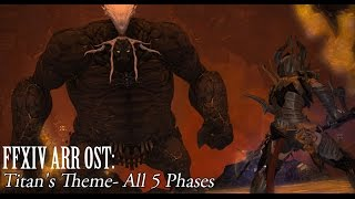 Repeat youtube video FFXIV OST Titan Theme All 5 Phases