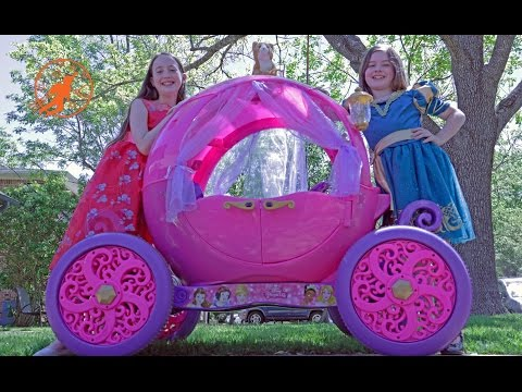 Thumbnail: Little Princesses 5 -The Mechanic, The Ride On Pink Disney Princess Carriage, and The Lesson