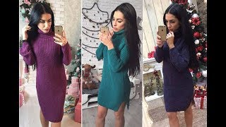 Winter Lookbook 2017/Knitted Dress/Winter Outfit