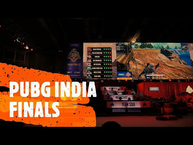 PUBG Club Open India Finals - the ultimate PUBG matches feat. Vivo Z1Pro