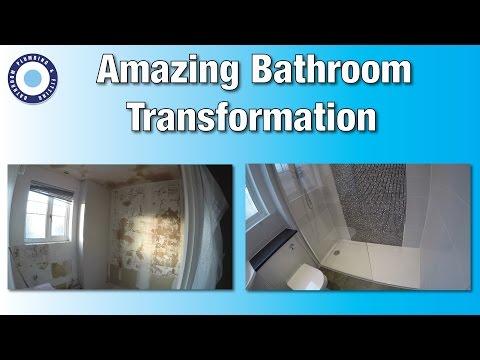 Bathroom Refit | timelapse | tutorial | DIY | Amazing Bathroom Transformation