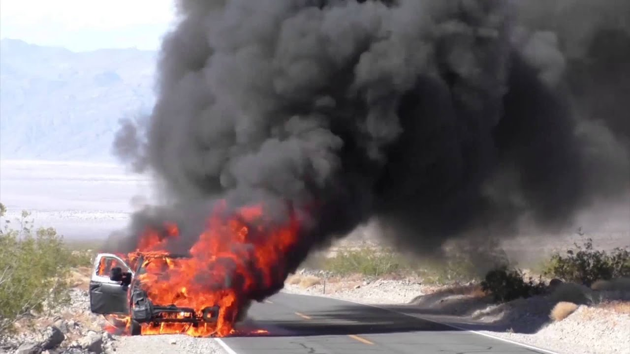 2016 Ford Super Duty >> 2016 Ford Super Duty prototype on fire - YouTube