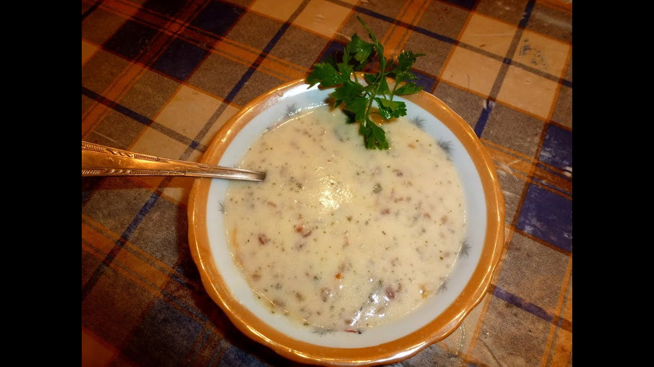 Армянский суп СПАС - Кисломолочный суп - YouTube
