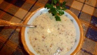 Армянский суп СПАС - Кисломолочный суп