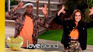 Siânnise and Luke T show their co-ordinated talents | Love Island Series 6