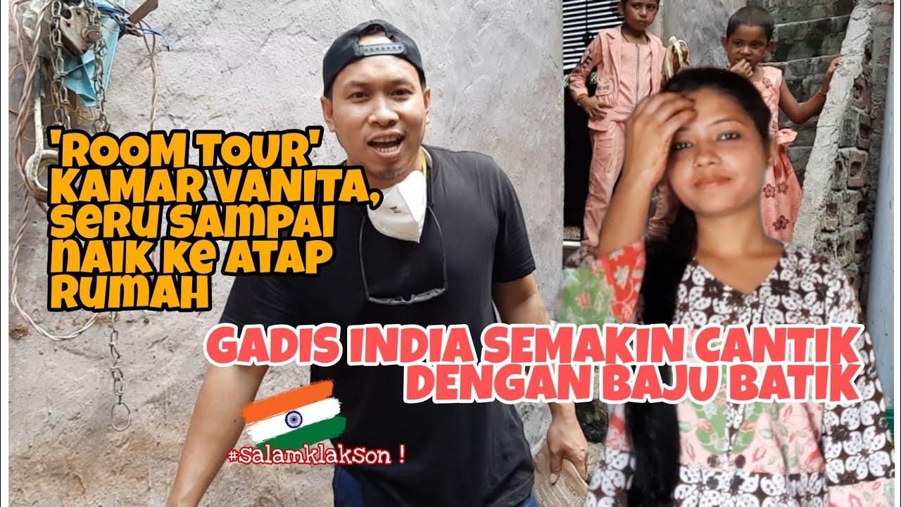 Download MANISNYA GADIS INDIA (VANITA) PAKAI BAJU BATIK DARI INDONESIA, TAMPILANYA SEMAKIN MENAWAN !