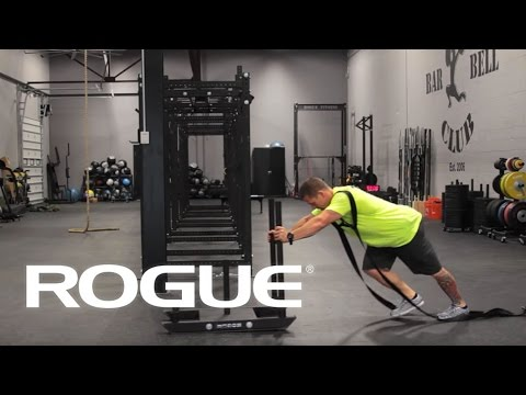 Equipment Demo - Westside/Dog Sled Push Pull - Rogue Fitness