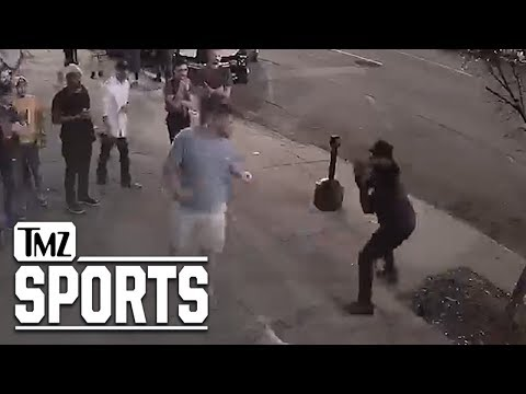 Corey & Patrick In The Morning - Carolina Panthers Lineman KO'd in Street Fight, Video Shows