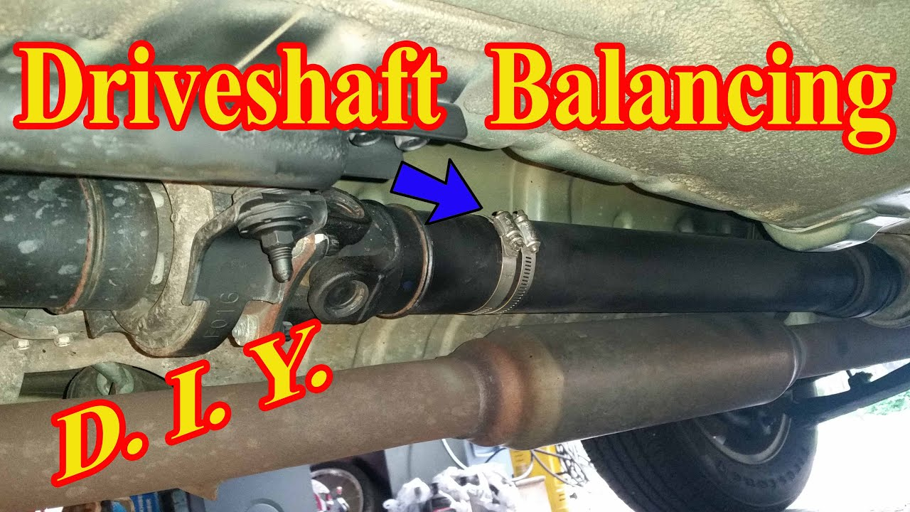 Driveshaft Balancing Near Me >> Under Chasis Clicking And Vibration Problem