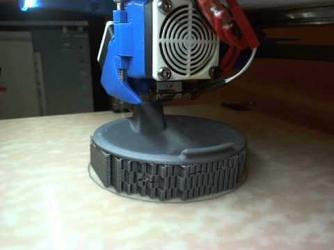 Octoprint on RPi V2 with Logitech C920 1080P HD Webcam test