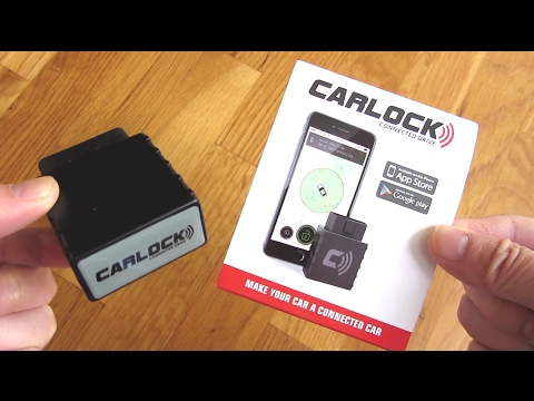 CarLock - Advanced GPS Car Tracking Unboxing And Intro
