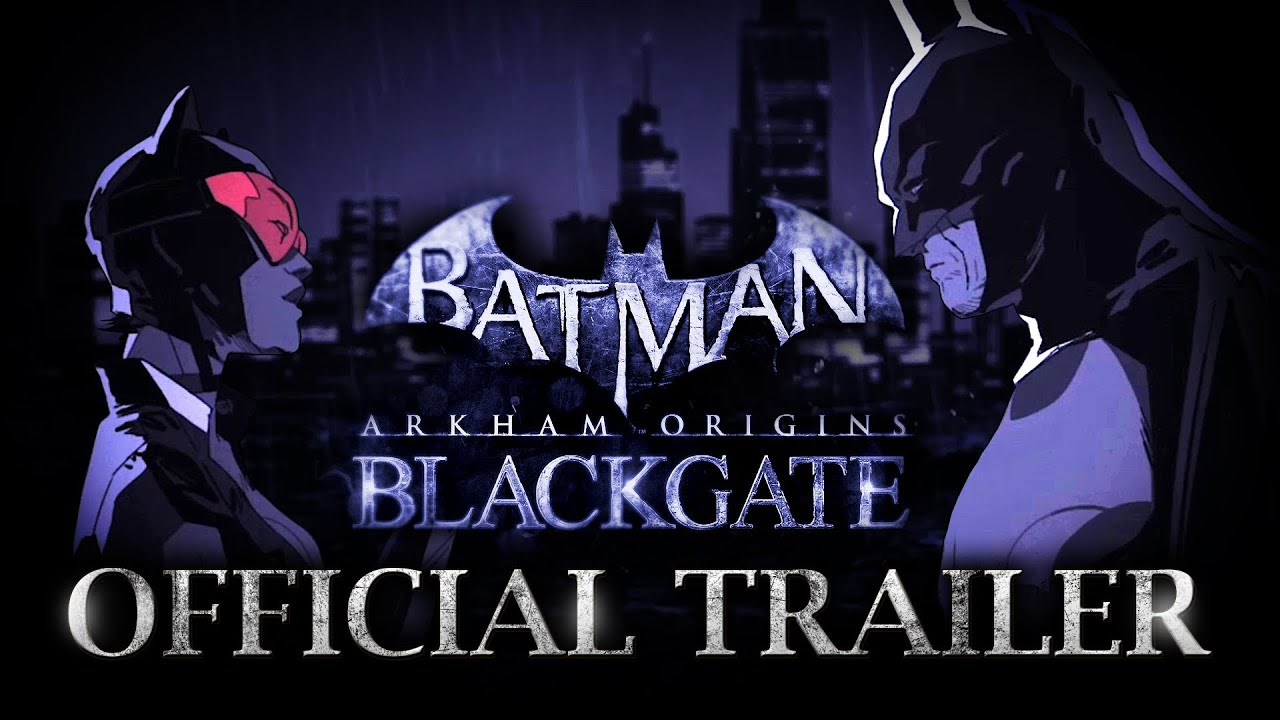 Batman: Arkham Origins Blackgate - Official Trailer - YouTube