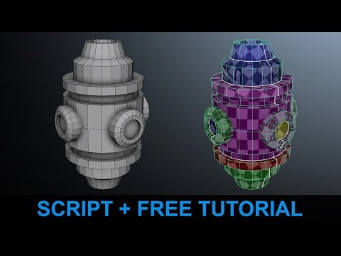 UV Mapping Fastest And Easiest Way In Maya 2018