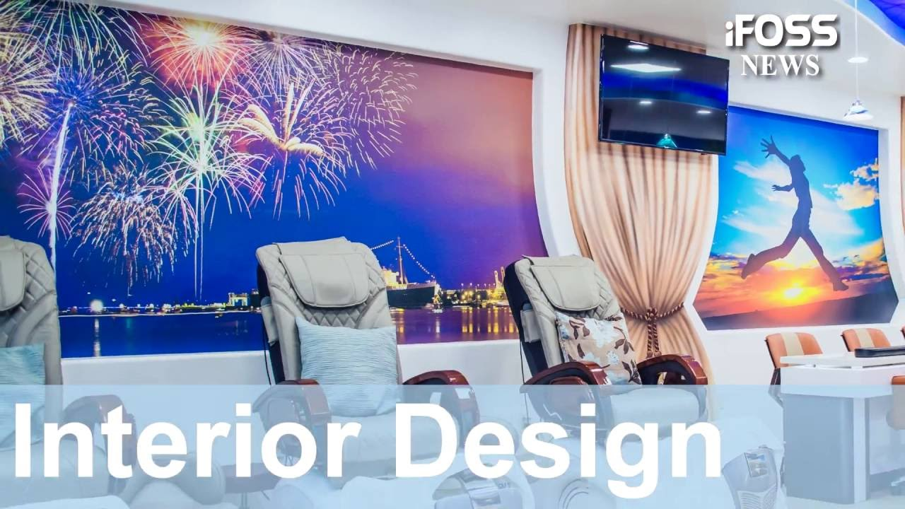 HOW TO REMODEL AND DESIGN NAILS SALON? - YouTube