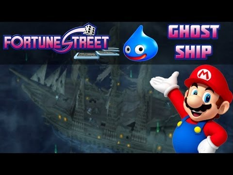 Fortune Street Wii - Ghost Ship | Online Multiplayer Livestream With Webcam And Pro-Tips!