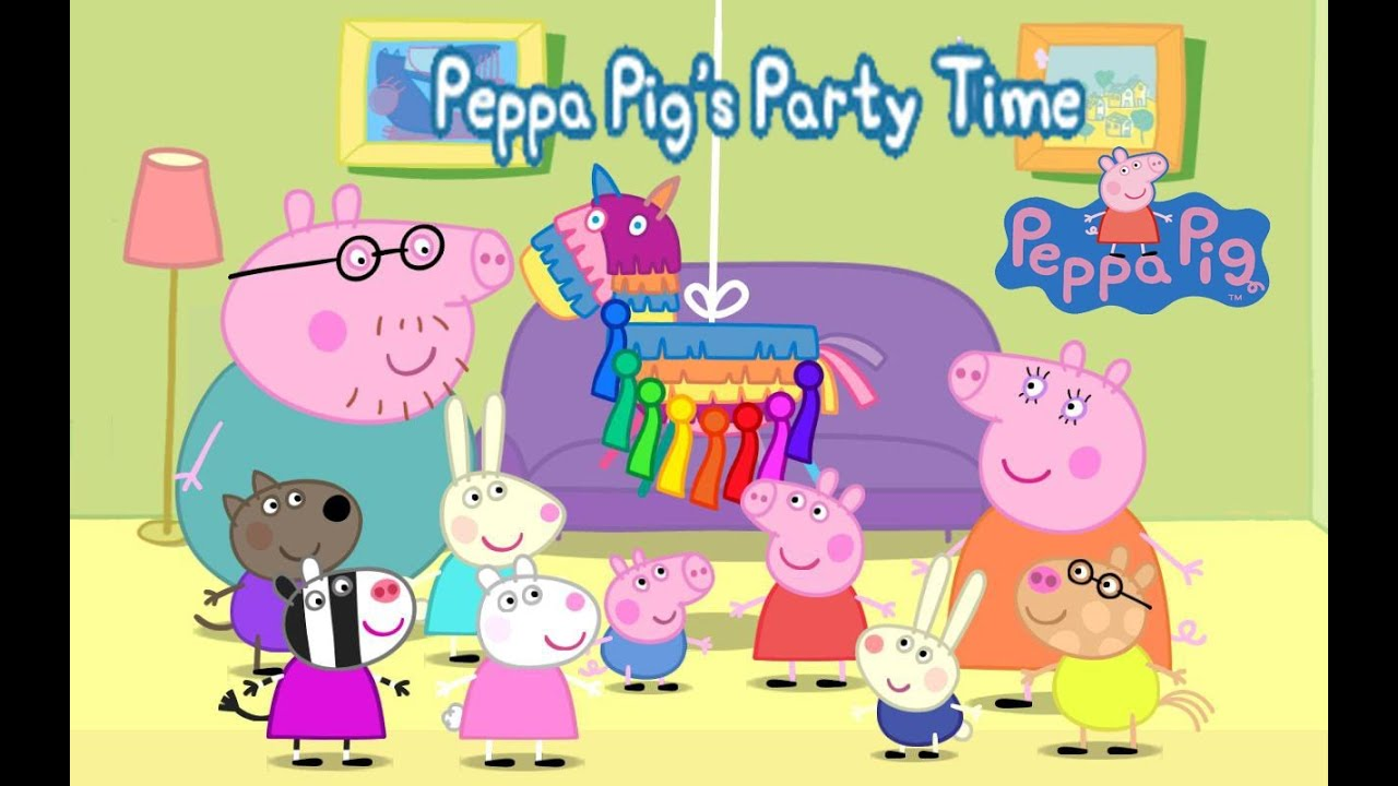 Party Time Peppa Pig S Party Time Part 1 Top App Demos For Kids Ellie