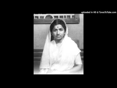 Rare Marathi song- lata - Nav tuje te yeta-