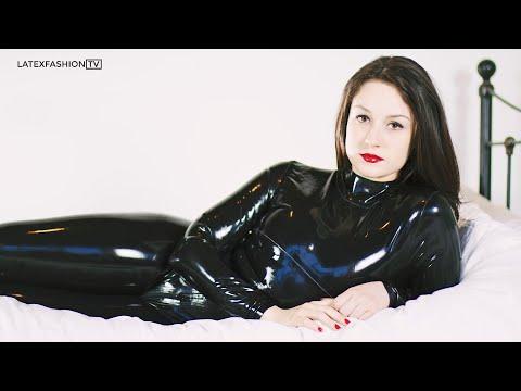 Harley Latex Catsuit Fashion Film | LatexFashionTV