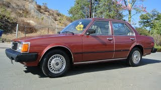 1981 Toyota Corona 22R RWD 1 Owner 52K Orig Miles トヨタ・コロナ T130 Video For Sale