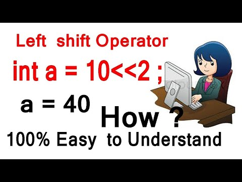 Left Shift Operator In C ( Easy To Understand ) | Bitwise Shift Operator In C Hindi - Youtube