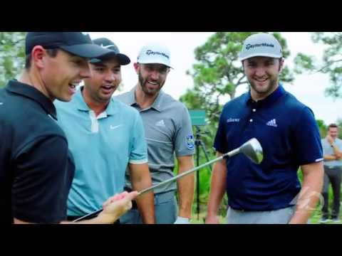 Tiger, Rory, DJ, Day & Rahm Hit A 40-Year-Old Driver | TaylorMade Golf