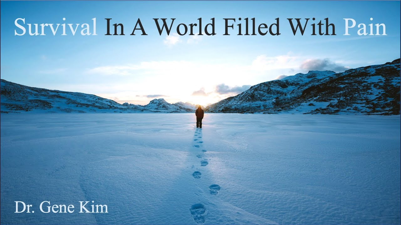 Survival In A World Filled With Pain   Dr. Gene Kim