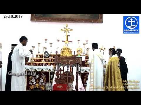 Parumala Seminary Holy Qurbana - H.GZacharih Mar Theophilos