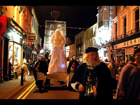 Halloween Festival 2012 Opening Ceremony in Youghal Co Cork