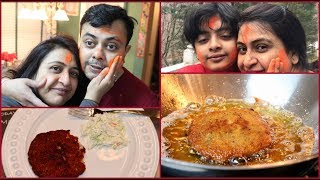 Holi Special Indian  Dinner  Routine 2019  |  Holi In America | Simple Living Wise Thinking