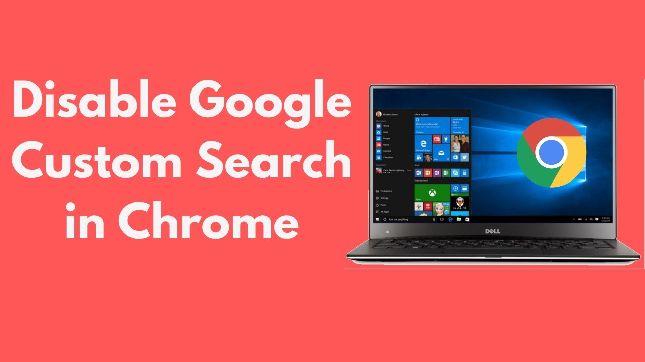 How to Disable Google Custom Search in Chrome UPDATED 2019