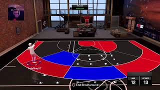 Playmaking shot creator 95 playing park