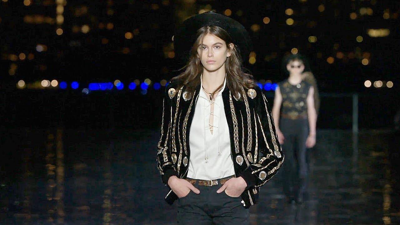 f9f571eed01 Saint Laurent | Spring Summer 2019 Full Fashion Show | Menswear ...