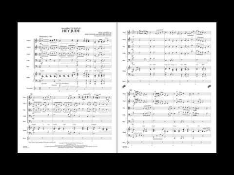 Hey Jude arranged by Larry Moore