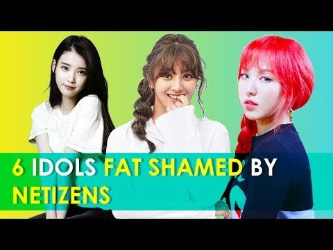 6 Female Kpop Idols Fat Shamed By Netizens | Kpop Facts | Ep 31