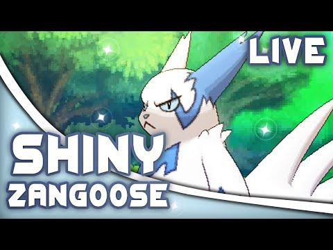 Pokémon ORAS - LIVE SHINY ZANGOOSE After 204 DexNav Encounters (Twitch Highlight)