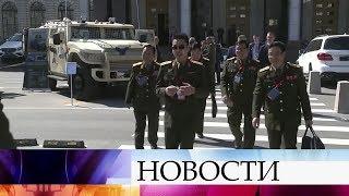 На международной конференции в Москве обсуждают вопросы глобальной безопасности.