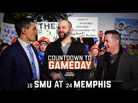 Countdown to GameDay: Week 10, SMU at Memphis | ESPN College Football