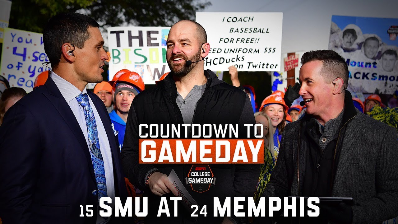 SMU football is finally back and on ESPN's GameDay. Suddenly, the ...