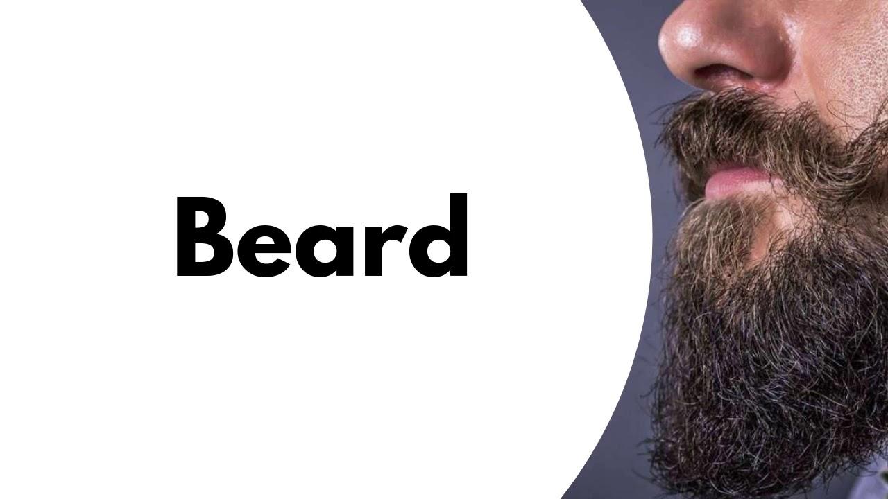 "How to Pronounce ""Beard"" - YouTube"