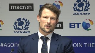 Scotland v Fiji - Peter Horne Post Match Press Conference