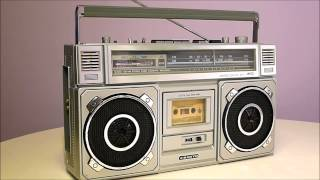 Sanyo M9965 Boombox - Play That Beat Mr. DJ