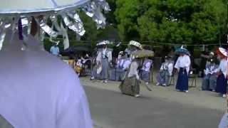 滝宮の念仏踊① 2012.8.25.MTS