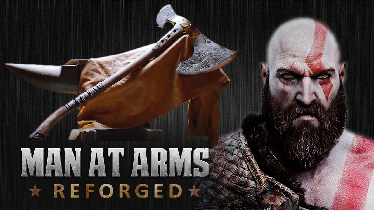 Kratos Axe God Of War Man At Arms Reforged